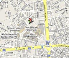 Mapa pobočky