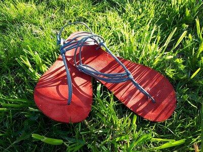 Workshop - Barefoot sandále