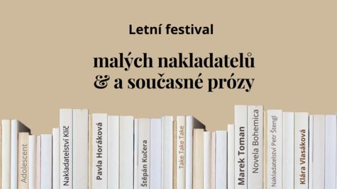 Literatura - Letní festival malých nakladatelů