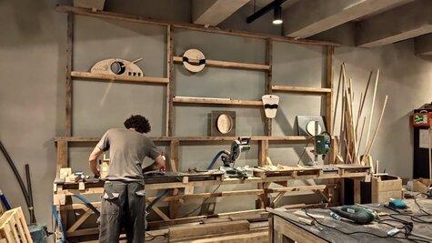 Workshop - Základy používání nářadí s truhlářem Robertem