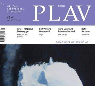 Literatura - Večer s časopisem PLAV – norsKOrejský křest